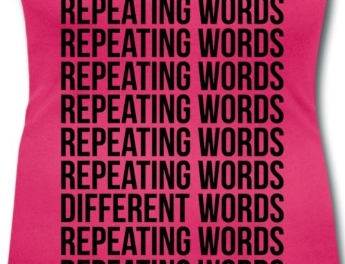 Avoid Repeating Words You Have Repeated Before Due to Repetition